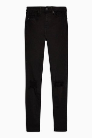 Black Super Rip Jamie Skinny Jeans | Topshop