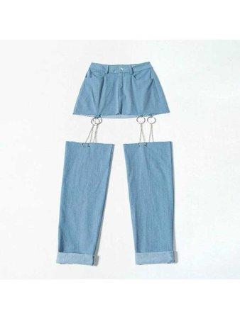 jean shorts thingy