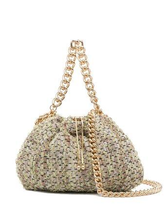 Rosantica Mania Tweed chain-strap Bag - Farfetch