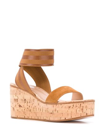 Gianvito Rossi wedge sandals $586 - Buy Online - Mobile Friendly, Fast Delivery, Price
