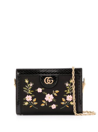 Gucci Ophidia Floral Crossbody Bag Ss20 | Farfetch.com