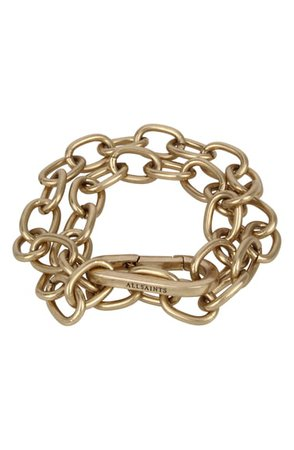 ALLSAINTS Double Chunky Chain Link Bracelet | Nordstrom