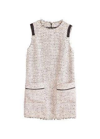 MANGO Tweed dress