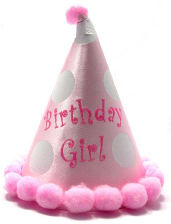 Birthday Girl Cone Hat
