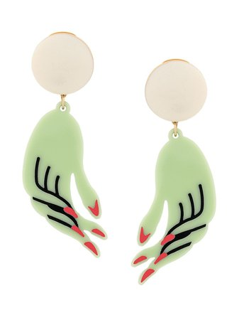 Marni hand earrings $490 - Buy Online AW19 - Quick Shipping, Price