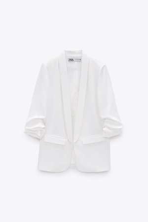 BLAZER WITH ROLLED-UP SLEEVES | ZARA United States