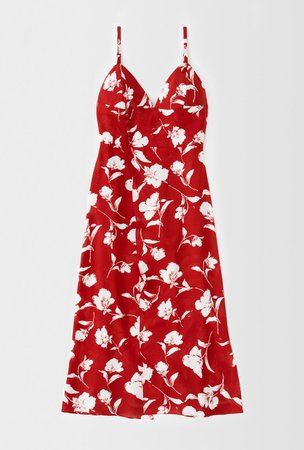 Carly Dress - Red Floral – Petite Studio
