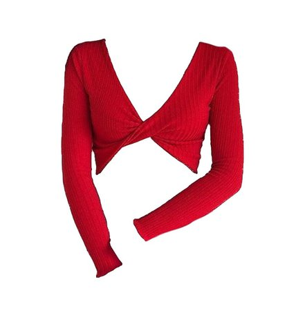 red shirt long sleeve