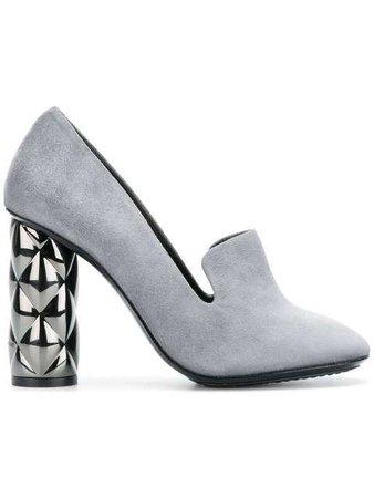 Luis Onofre Embellished Heel Pumps - Farfetch