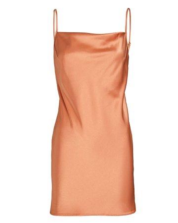 Nanushka Lotti Satin Mini Slip Dress   INTERMIX®