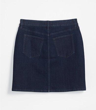 Petite Denim Utility Skirt | LOFT