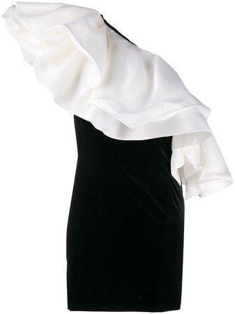 Alexandre Vauthier Velvet Mini Dress | Farfetch.com