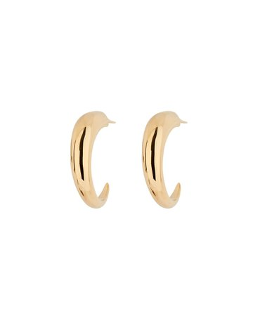 Missoma Medium Claw Hoop Earrings | INTERMIX®