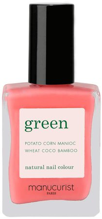 Green Nail Lacquer - Capucine