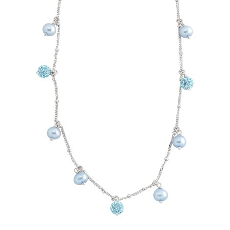blue pearl necklace - Pesquisa Google