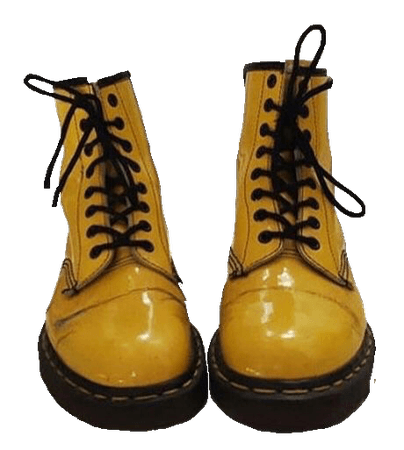 Yellow Doc Martens