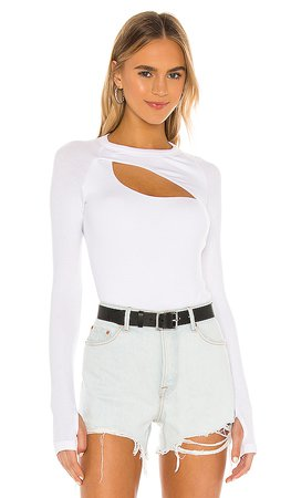 ALIX NYC Summit Bodysuit in White | REVOLVE