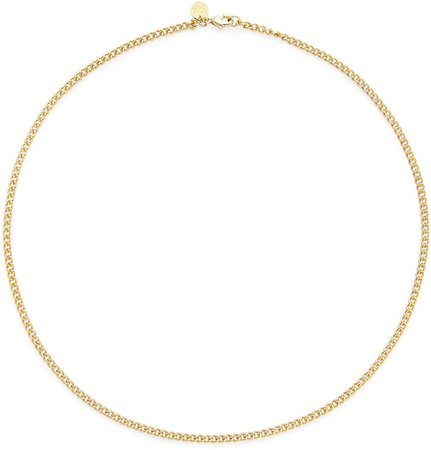Brook And York Stella Curb Chain Necklace