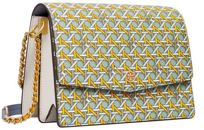 Robinson Printed Convertible Shoulder Bag