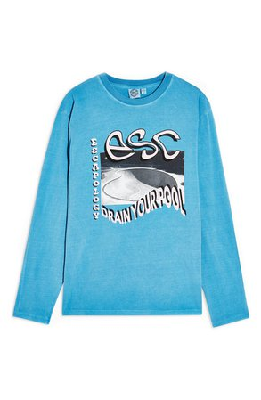 Topshop Escapology Long Sleeve Graphic Tee | Nordstrom