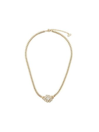 Christian Dior Vintage snake chain necklace