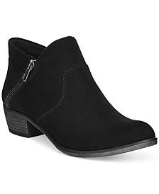 Style & Co Wileyy Ankle Booties, Created for Macy's & Reviews - Boots - Shoes - Macy's