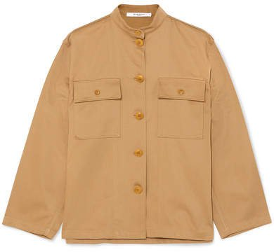 Cotton-drill Shirt - Beige