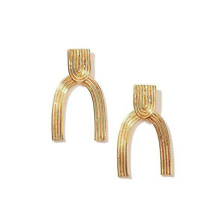 Earrings | Shop Women's Gold Drop Earring at Fashiontage | GP0156