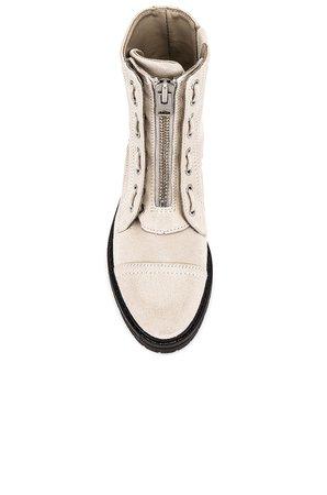 ALLSAINTS Ariel Boot in White   REVOLVE