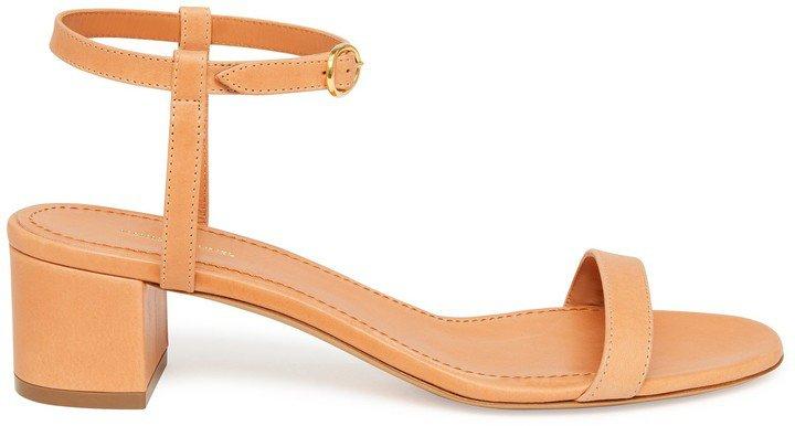 Vegetable Tanned Ankle Strap Sandal - Cammello