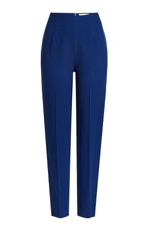 High-Waisted Wool Pants Gr. UK 12