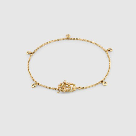 GG Running bracelet with diamonds - Gucci For Women 481671J85408000