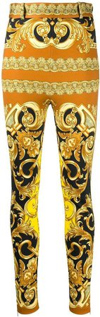 high waist baroque trousers