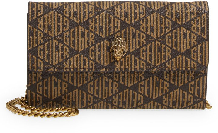 Monogram Crossbody Wallet