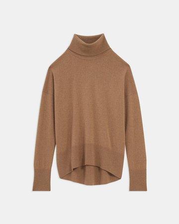 Cashmere Karenia Turtleneck Sweater | Theory