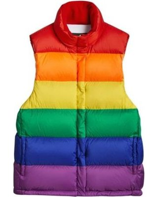 Burberry Rainbow Down Puffer Vest