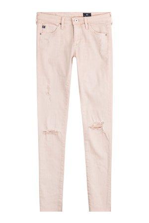 Distressed Skinny Jeans Gr. 28