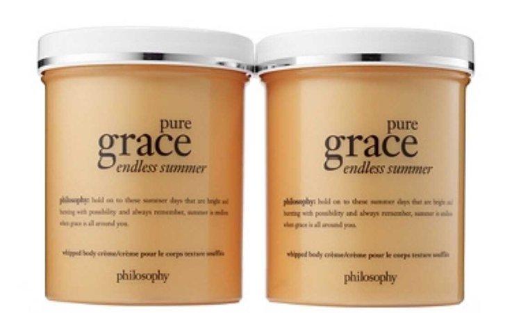 philosophy tan cream body