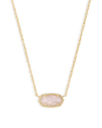 Elisa Gold Pendant Necklace in Drusy | Kendra Scott