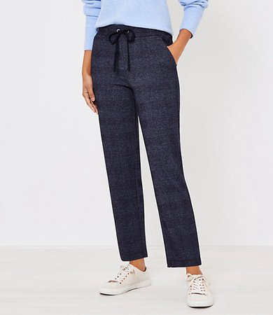 Petite Tapered Pull On Pants