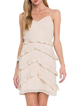 Endless Rose Ruffled Strap Dress