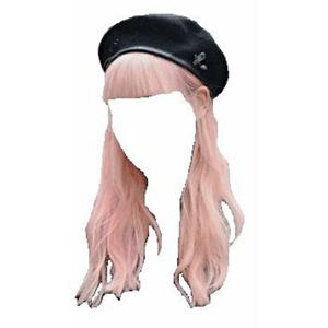 Pink Hair PNG Bangs
