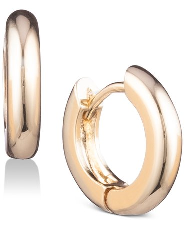 Anne Klein Huggie Small Hoop Earrings & Reviews - Earrings - Jewelry & Watches - Macy's