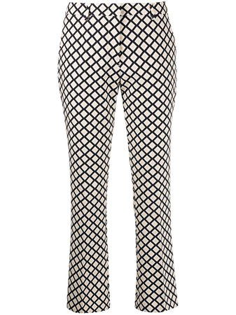 Pt01 check-print Tailored Trousers - Farfetch
