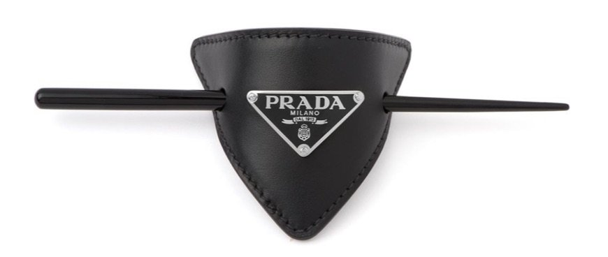 Prada hair pins