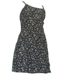 90's black dress