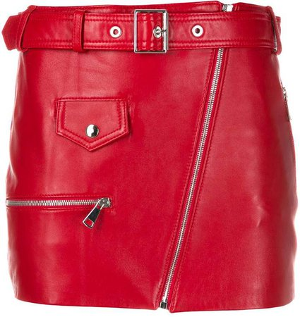Manokhi Dita belted mini skirt