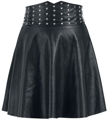 A Touch Of Evil | Rock Rebel by EMP Short skirt | null