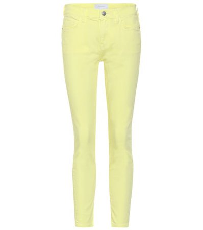 The Stiletto high-rise skinny jeans
