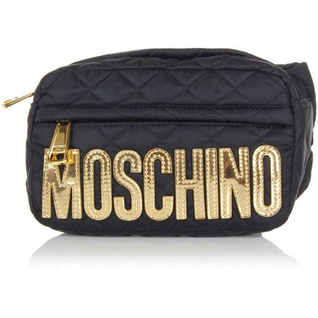 Moschino Fabric waist Bag ($185)